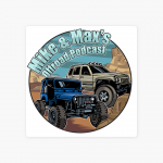 Mike & Max's Offroad Podcast logo