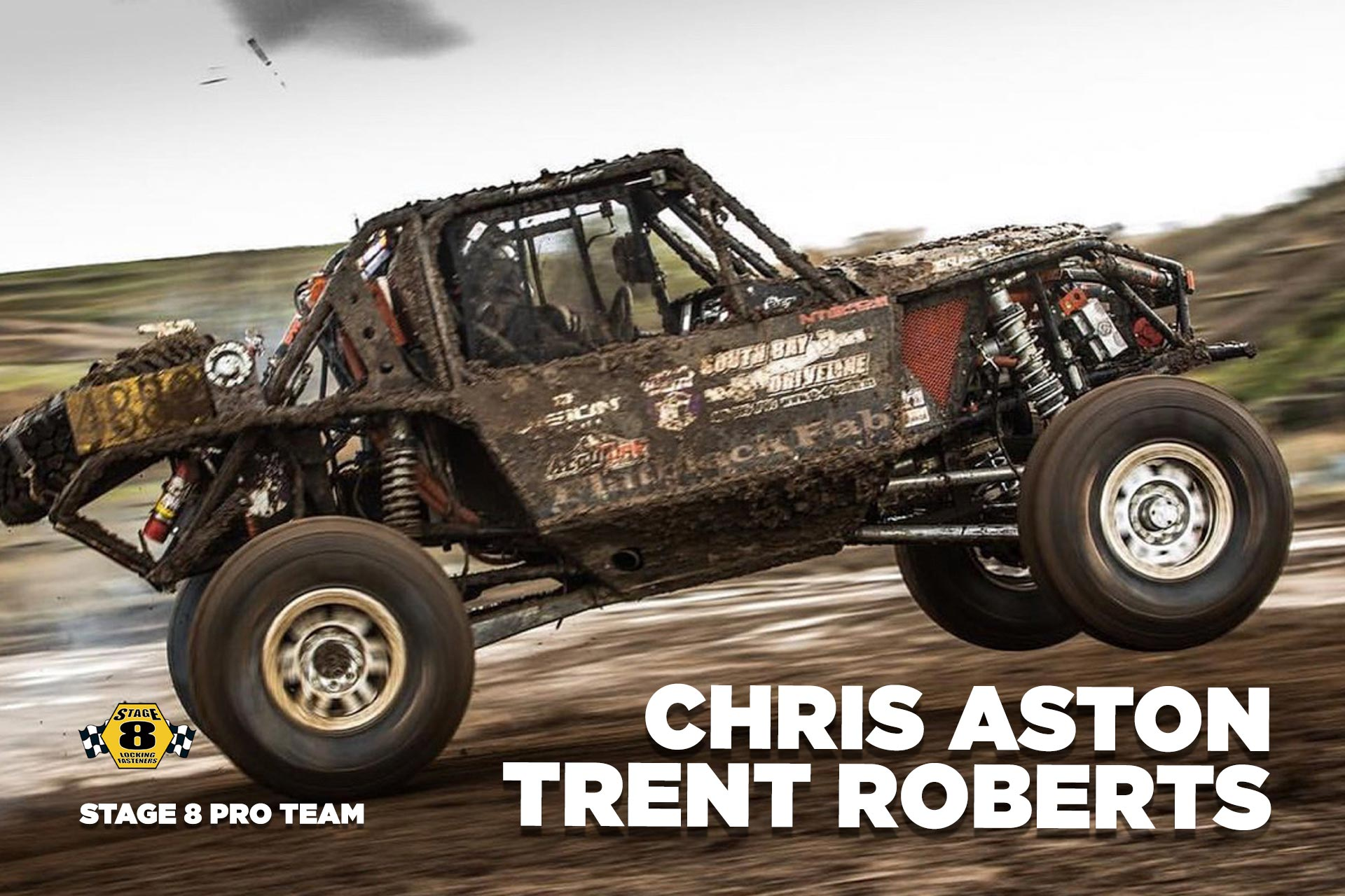 Stage 8 Pro Team Members Chris Ashton and Trent Roberts