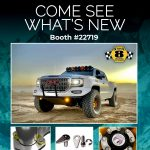 Stage 8 SEMA trade show promotional graphic